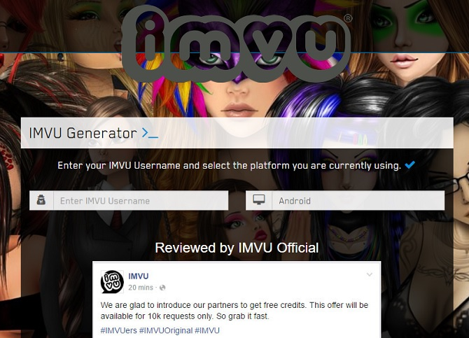 Imvu How To Get Female Avi Without Ap Image S And