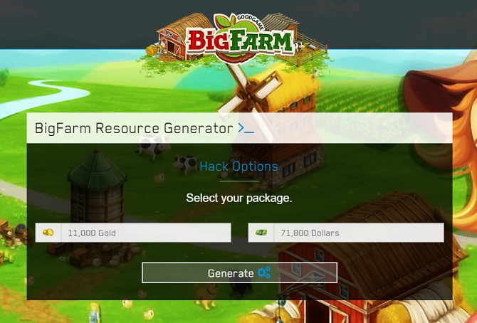 Bigfarm Gold and Dollars Hack