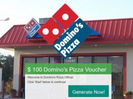 Free Domino's Pizza Voucher