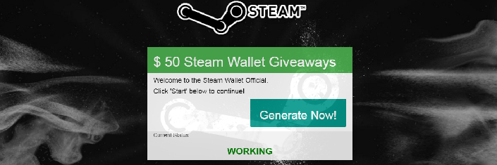 Free Steam Wallet Giveaway