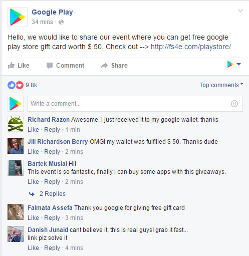 google play generator proof
