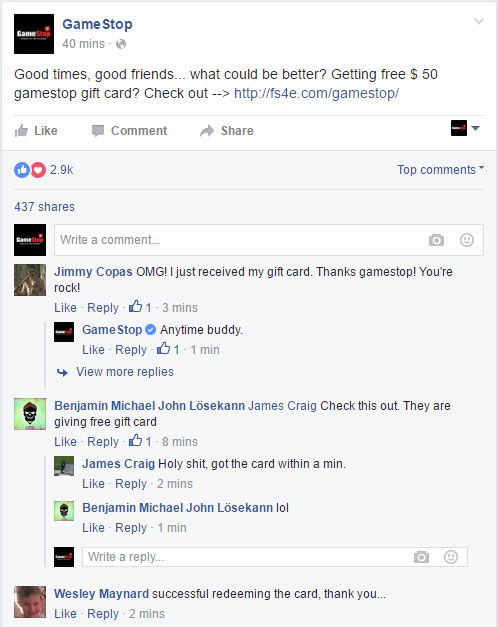 proof fb gamestop gift card