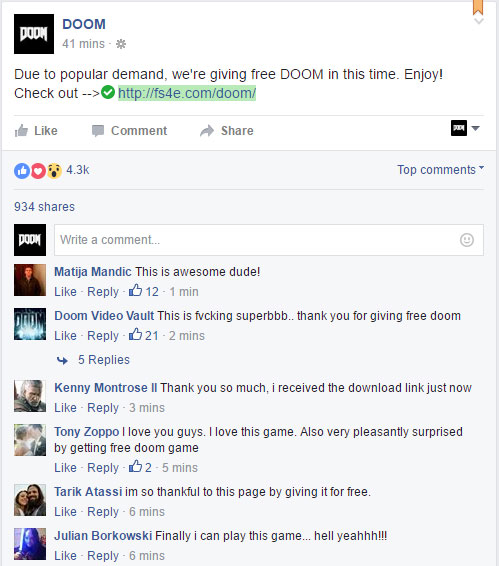 proof free download doom official