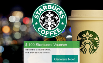 Starbucks free promotion