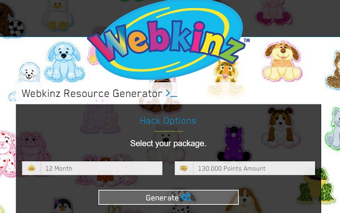 Working Webkinz Hack No Survey 2016
