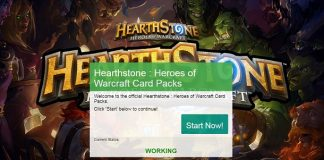 hack heart of stone heroes of warcraft free card packs