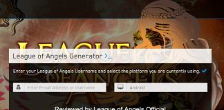 league of angels diamonds hack