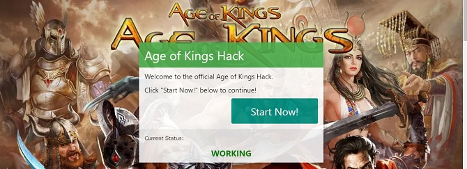 age of kings gold hack use our generator