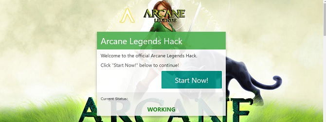 arcane legends hack use our generator