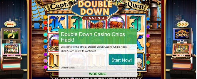 double down casino chips hack proof