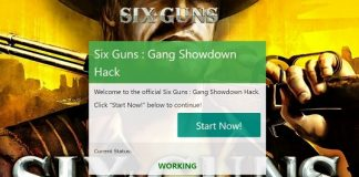 six guns gang showdown coins use our generator