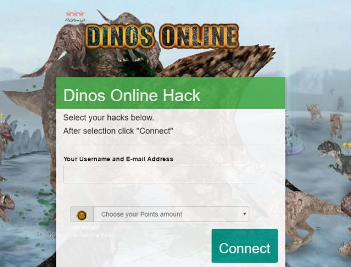 Dinos Online Points Hack