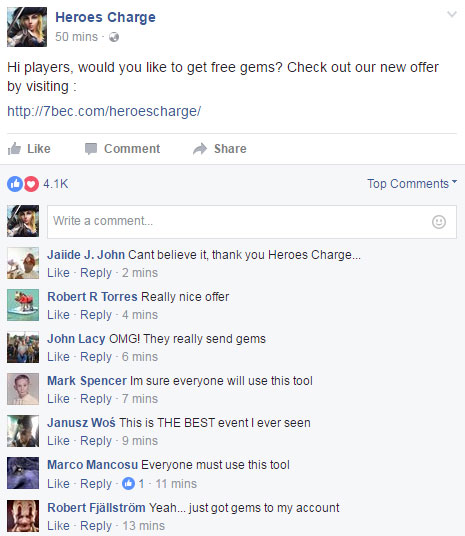 heroes charge free gems proof