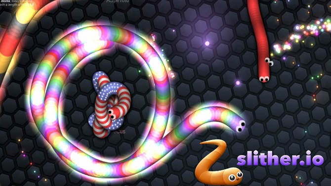 Slither. Io tricks