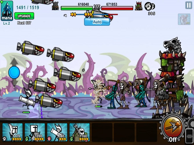cartoon wars 3 game