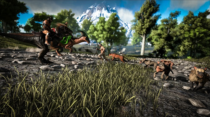 ark survival evolved tricks